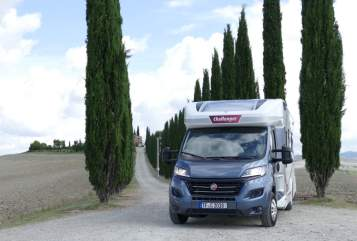 Hire a motorhome in Rangsdorf from private owners  Challenger  Mageo Cruise