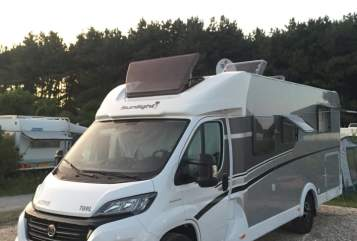 Hire a motorhome in Marl from private owners  Fiat Sunny/Automatik