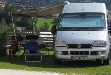Hire a motorhome in Weilheim i. OB from private owners| Fiat Ducato  Closette