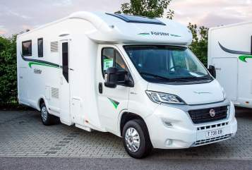 Hire a motorhome in Essen from private owners  Forster Hannes N