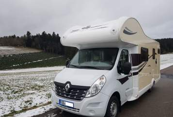 Hire a motorhome in Loßburg from private owners| Renault Master Flotte Lotte