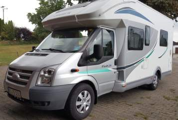 Hire a motorhome in Wangen im Allgäu from private owners| Ford Transit Chauson   Wolke