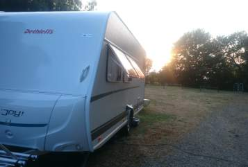 Hire a motorhome in Werder (Havel) from private owners| Dethleffs  Detti