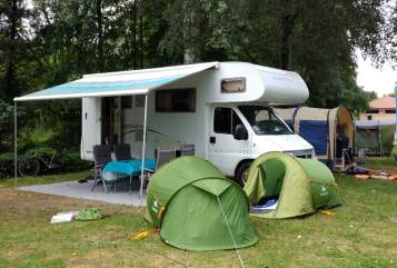 Hire a motorhome in Haan from private owners| Dethleffs Rumtreiber