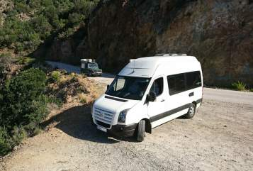 Hire a motorhome in Chemnitz from private owners  Volkswagen Karl Craft