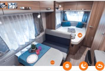 Hire a motorhome in Göppingen from private owners| Weinsberg  Olivia