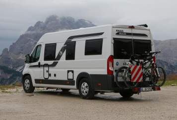 Hire a motorhome in Blaustein from private owners| Knaus Onkel Franz