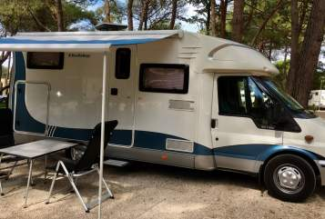Hire a motorhome in Düsseldorf from private owners  Hobby Friedel