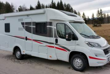 Hire a motorhome in Hennef (Sieg) from private owners| Sunlight Suni