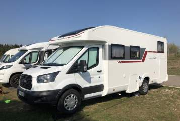 Hire a motorhome in Seubersdorf in der Oberpfalz from private owners| Ford BINO mit 170PS