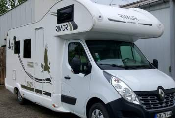 Hire a motorhome in Neustadt an der Orla from private owners| Renault Master 2,3 Diesel 125PS,  Rimor