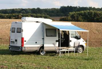 Hire a motorhome in Bad Oldesloe from private owners| Iveco Daily 35C 15 BIZK Camper