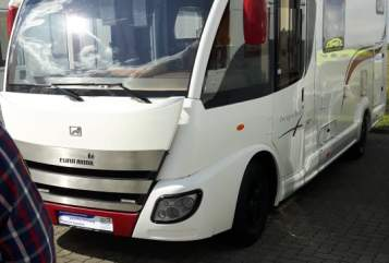 Hire a motorhome in Wolfsburg from private owners| EURA MOBIL Egon