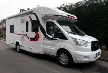 Hire a motorhome in Duisburg from private owners| Challenger Schnecke