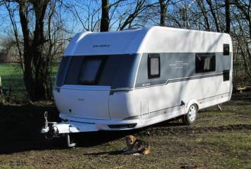 Hire a motorhome in Wanderup from private owners| Hobby Henriette