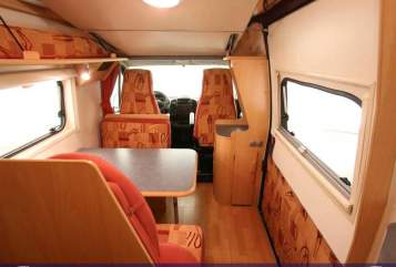 Hire a motorhome in Ellerbek from private owners| Fiat Ducato Meine Rote Zora