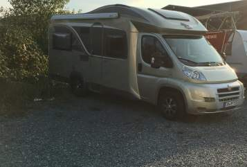 Hire a motorhome in Bad König from private owners| Bürstner See Stern