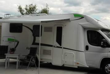 Hire a motorhome in Dorsten from private owners| Forster 738 Floyd