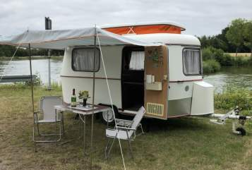 Hire a motorhome in Greven from private owners| HYMER Eriba ERIBA PAN