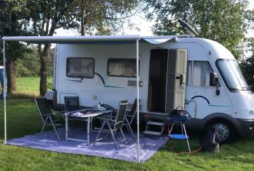 Hire a motorhome in Handewitt from private owners  Hymer Hymi