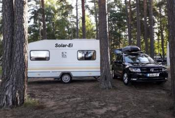 "Hire a motorhome in Mannheim from private owners| Knaus ""Solar-Ei"""