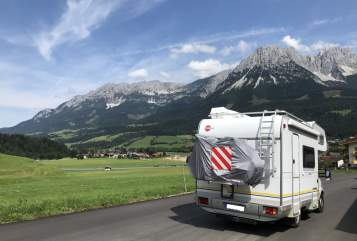 Hire a motorhome in Gießen from private owners| Fiat A535 active