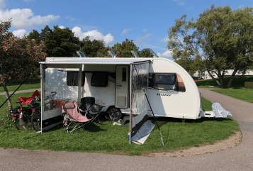 Hire a motorhome in Jesteburg from private owners  Sprite (by Swift), GB Lady Sprite