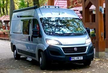 Hire a motorhome in Mühlhausen/Thüringen from private owners| Fiat  Road Car