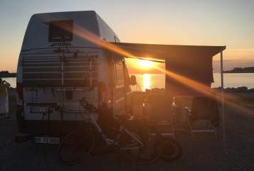 Hire a motorhome in Schriesheim from private owners| Poessl Big White