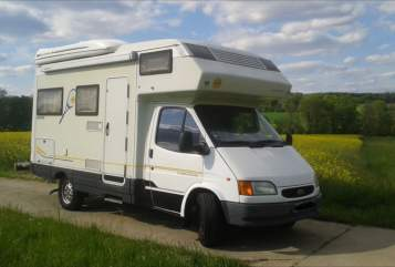 Hire a motorhome in Ravensburg from private owners| Karmann Karmann Davis