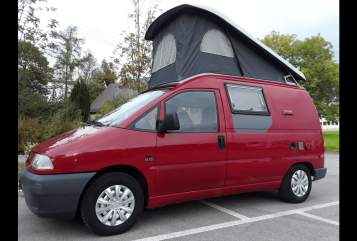 Hire a motorhome in München from private owners  fiat Scudo Ingo Flamingo