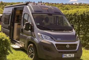 Hire a motorhome in Mühlhausen/Thüringen from private owners| Fiat Ducato, Pössle Orange Camper
