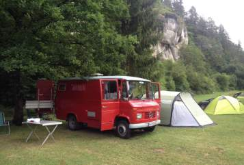 Hire a motorhome in Neusitz from private owners| Mercedes Benz Molekül