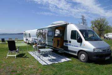 Hire a motorhome in Aschaffenburg from private owners  Citroen Sepp