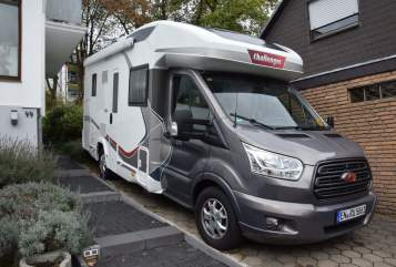 Hire a motorhome in Wetter from private owners  Challenger Pott on Tour