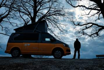 Hire a motorhome in Pfungstadt from private owners| VW Engelchen