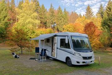 Hire a motorhome in Lemgo from private owners| Knaus Knausi