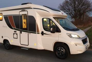 Hire a motorhome in Soest from private owners| Bürstner Soest Wohnmobil