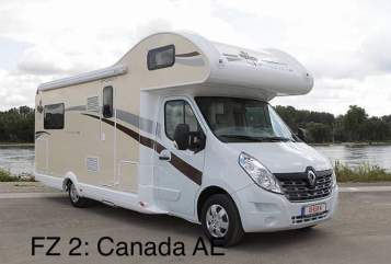 Hire a motorhome in Weiden in der Oberpfalz from private owners| Ahorn Canada AE