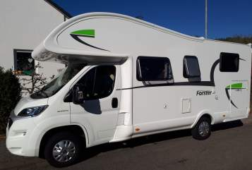 Hire a motorhome in Blieskastel from private owners| Forster Keckimobil