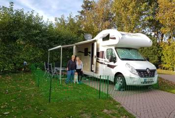 Hire a motorhome in Speyer from private owners| Ahorn Donnerbuddy
