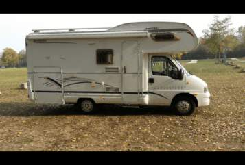 Hire a motorhome in Aichwald from private owners| Fiat Womo  6,2 m