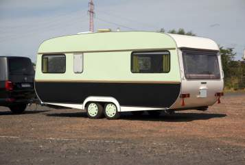 Hire a motorhome in Hamburg from private owners  Tabbert Porto Petrolio