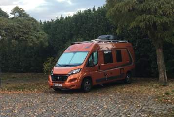Hire a motorhome in Hilzingen from private owners| Fiat Ducato Fuchsi