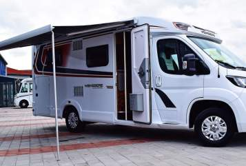 Hire a motorhome in Lommatzsch from private owners| Weinsberg Berta