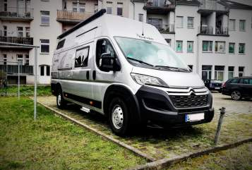 Hire a motorhome in Leipzig from private owners| Citroen Jumper 160 Citroen Jumper