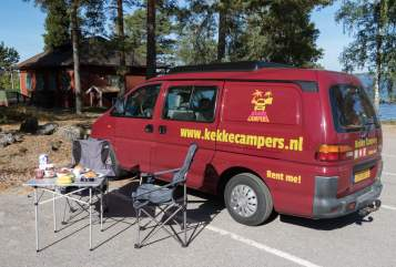 Hire a motorhome in Utrecht from private owners| Mitsubishi Palm