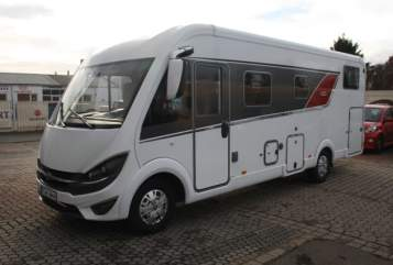Hire a motorhome in Frankenthal from private owners| Bürstner Felix