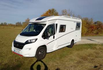 Hire a motorhome in Mengkofen from private owners  Dethleffs Ole
