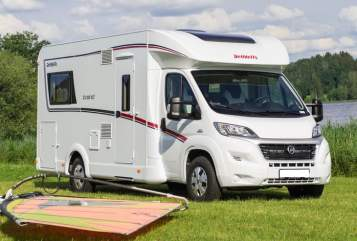 Hire a motorhome in Hoyerswerda from private owners| FIAT Dethleffs Seenland Camper